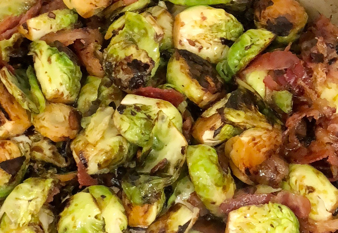 Bodacious brussel Sprouts